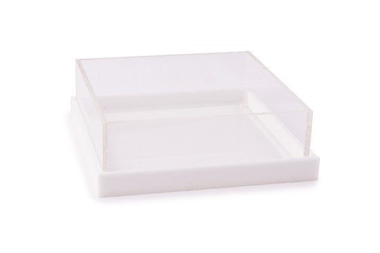 """Acrylic Server with Base/Cover-8"""""""