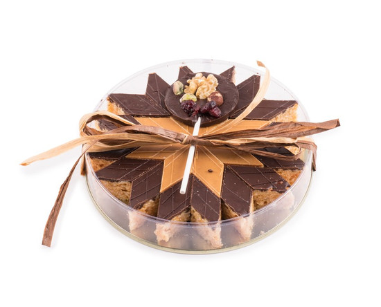 Peanut Chew Platter With Chocolate Bark Lolly