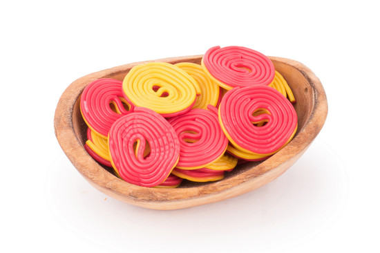 Red/ Yellow Licorice Wheels