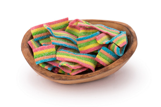 Rainbow Sour Bites