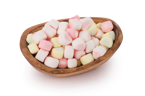 Candy Marshmallow Hearts