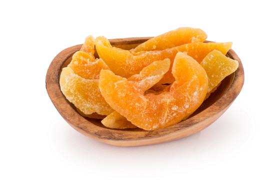 Dried Cantalope