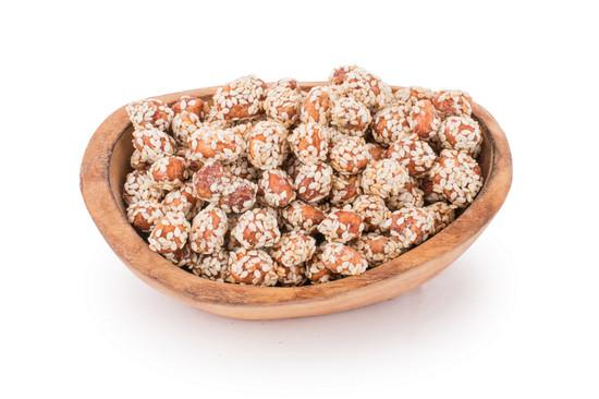 Honey Glazed Sesame Peanuts