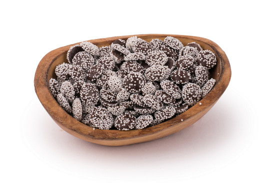 Non-pareils Chocolate Mini White