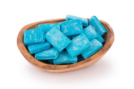 Flat Blue Gummy Candy