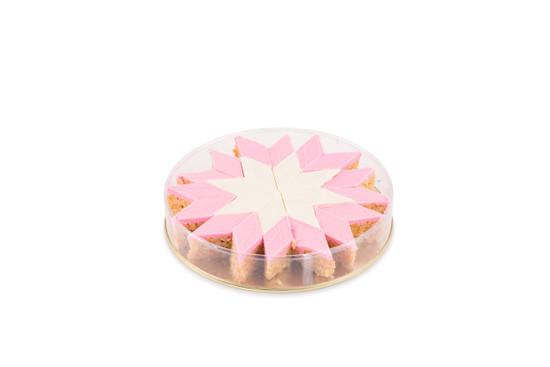 Peanut Chew Starburst Pink-24 piece