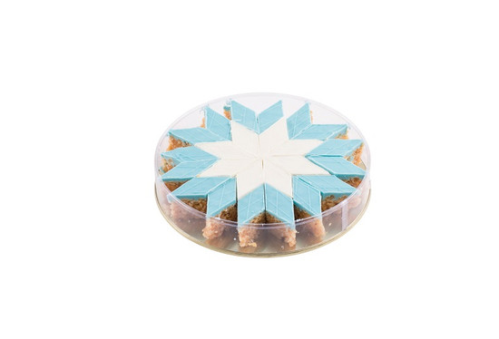 Blue Peanut Chew Platter -24 Piece