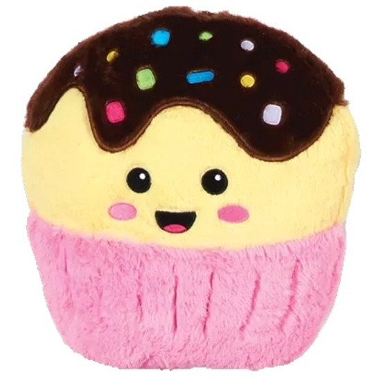 Happy Cupcake Scented Furry Pillow