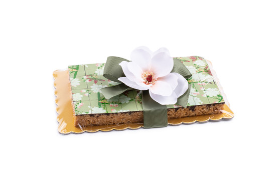 Peanut Chew Platter with Floral Pattern-40 piece