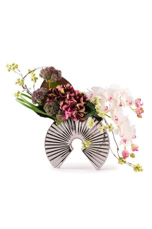 Floral Artistry Arch-(Burgandy)