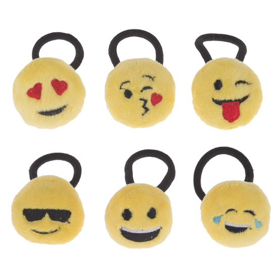 Emoji Pony Holders