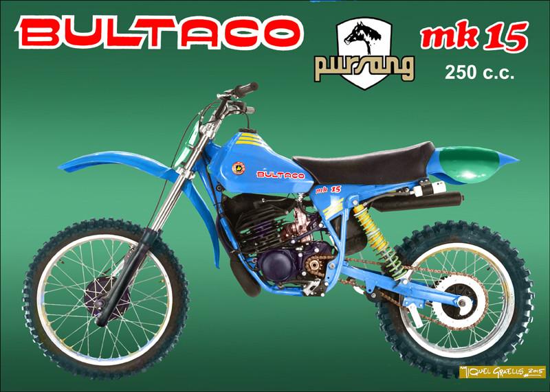 Bultaco Mk15 Pursang - Moto-Classic