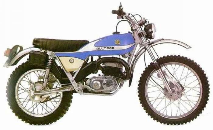 Model 137 250cc 1974