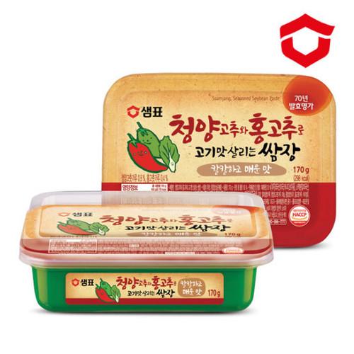SEMPIO Ssamjang, Seasoned Soybean Paste with Chili 170g*24