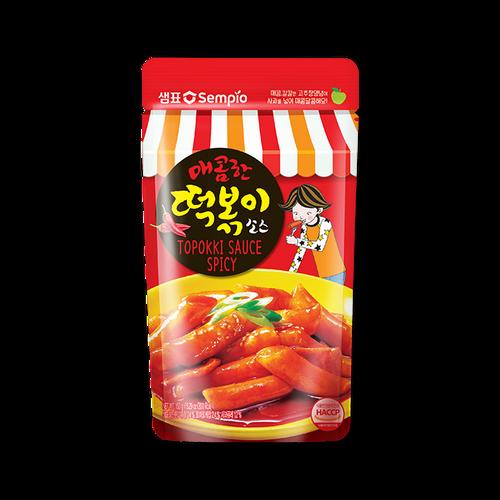 SEMPIO Spicy Tteokbokki Sauce 150g*6*4