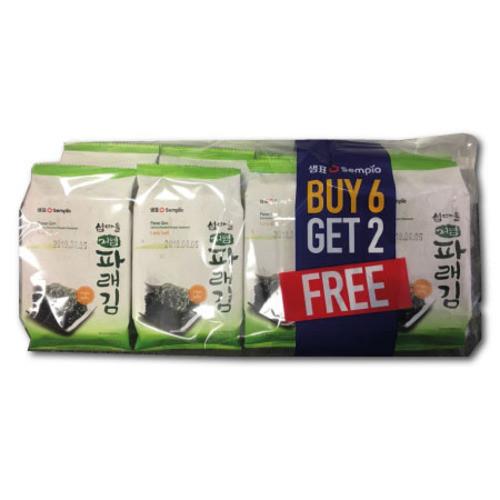 SEMPIO Less Salt Pare Laver 8Pack (10sh*8)*12
