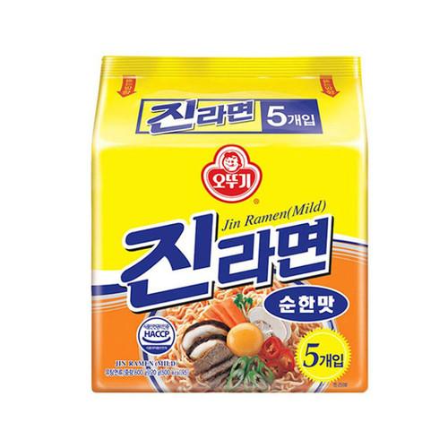 OTTOGI Jin Ramen Multi [Mild] 120g*5*8