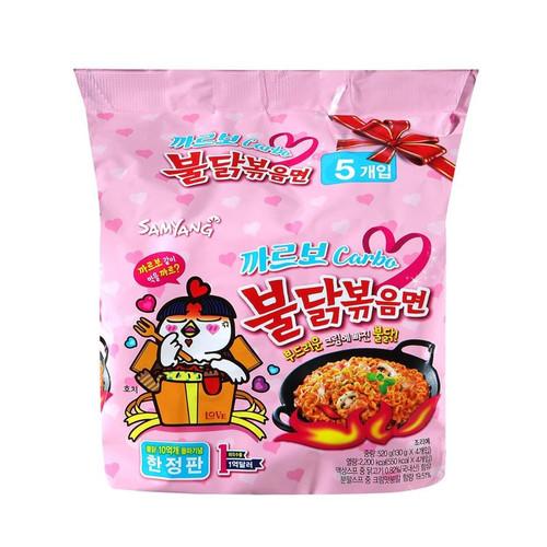 Samyang Carbo Hot Chicken Noodle Multi (130g*5)