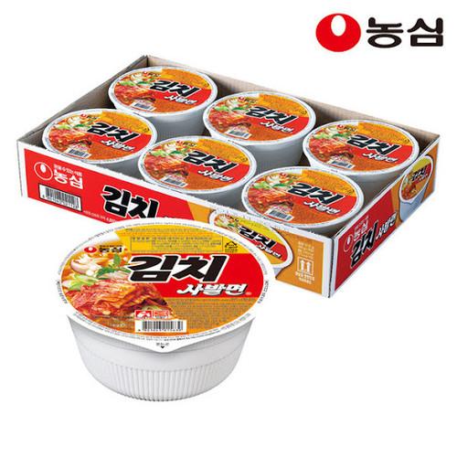 Nongshim Kimchi Noodle 6Cup 86g*6