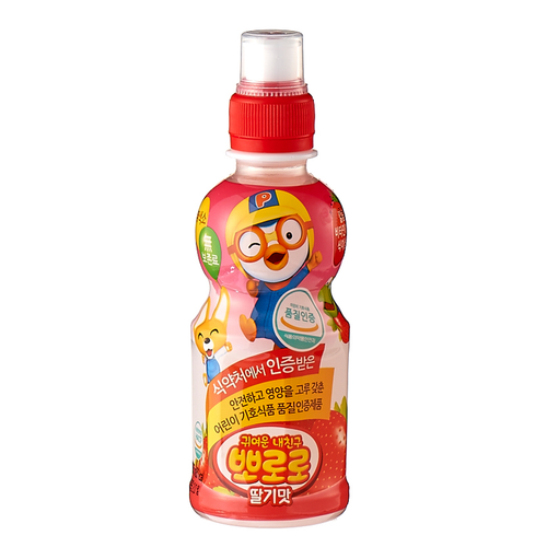 YAKULT Pororo Kids Drink [Strawberry] 235ml*24