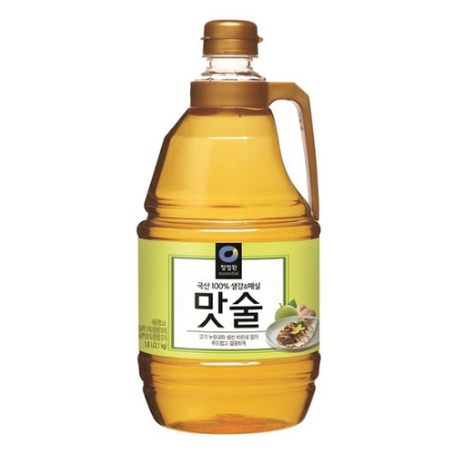 CHUNGJUNGWON Matsool Cooking Wine Ginger & Plum 1.8l*6
