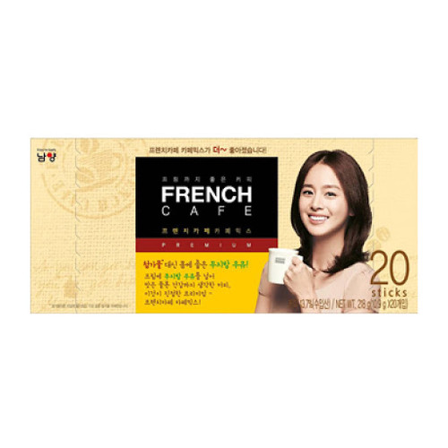 NY FRENCH CAFÉ COFFEE MIX(LATTE) 10.9g * 20 Sachet