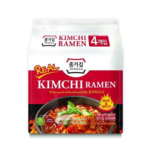 Jongga Real Kimchi Ramen Multi (122g*4)