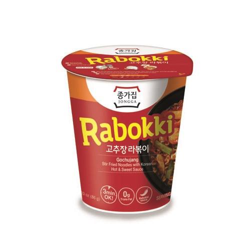 JONGGAJIP Gochujang Rabboki Cup 86g*6