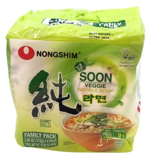 Nongshim Soon(Vegi) Ramen (112g*5)