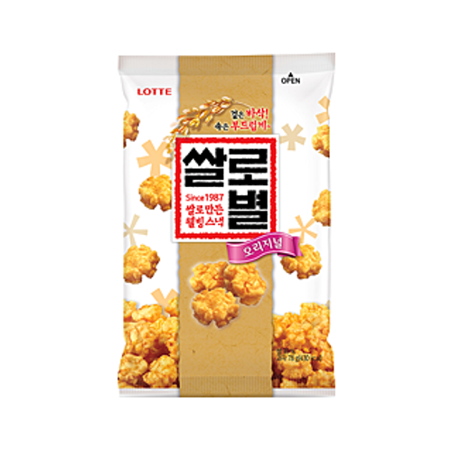 Lotte Rice Snack 78g
