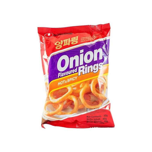 Nongshim  Onion rings (Hot & Spicy) 40g