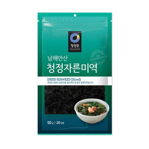 CHUNGJUNGWON Cut Dried Seaweed 50g*30