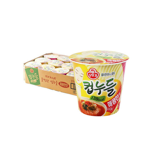 OTTOGI Cup Noodle [Spicy] 38g*15