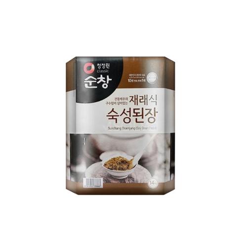 CHUNGJUNGWON Sunchang Old Style Fresh Soybean Paste [Bulk] 14kg