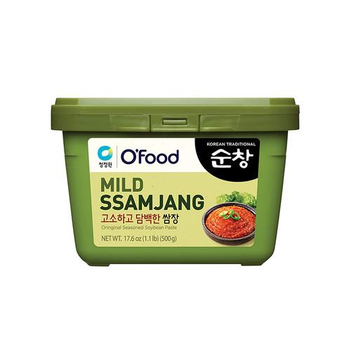 CHUNGJUNGWON Sunchang Seasoned Soybean Paste Mild 500g*20