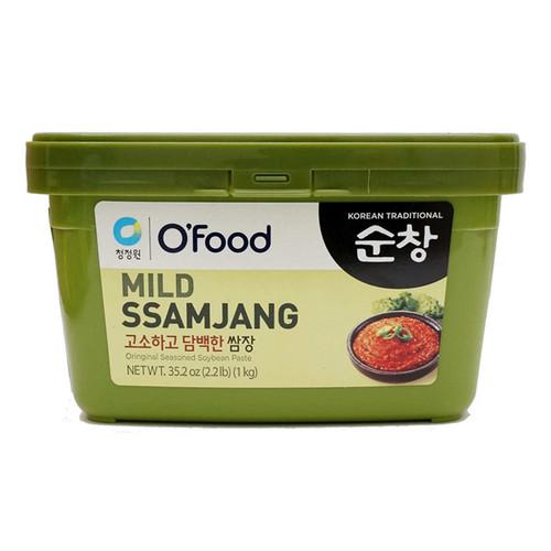 CHUNGJUNGWON Sunchang Seasoned Soybean Paste Mild 1kg*12