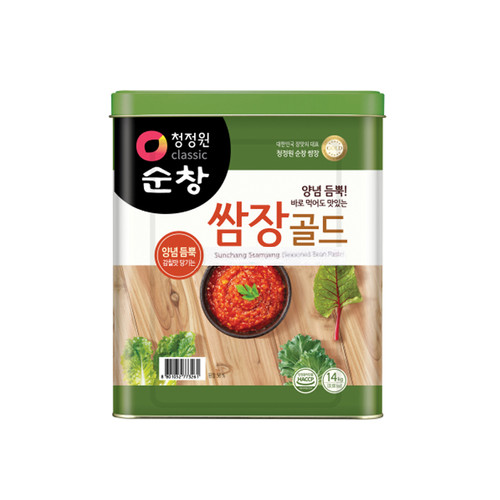 CHUNGJUNGWON Sunchang Seasoned Soybean Paste [Bulk] 14kg