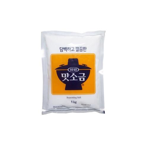 CHUNGJUNGWON Fine Salt 1kg*5