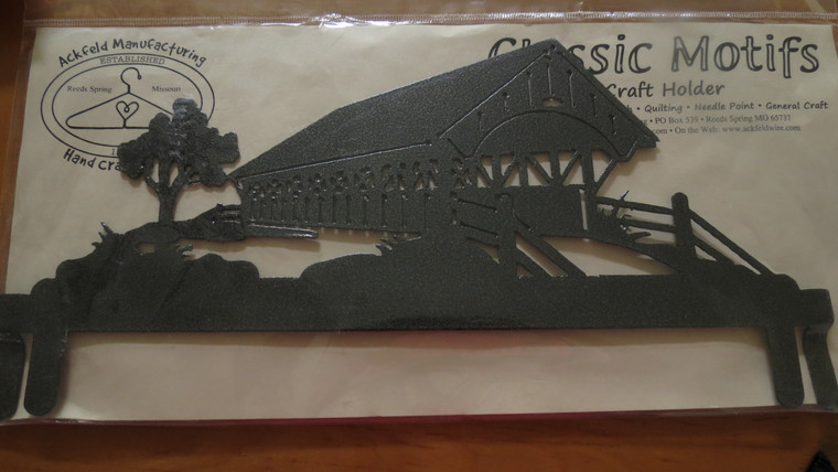 """12"""" Covered Bridge Header for 12"""" X 14"""" stand"""