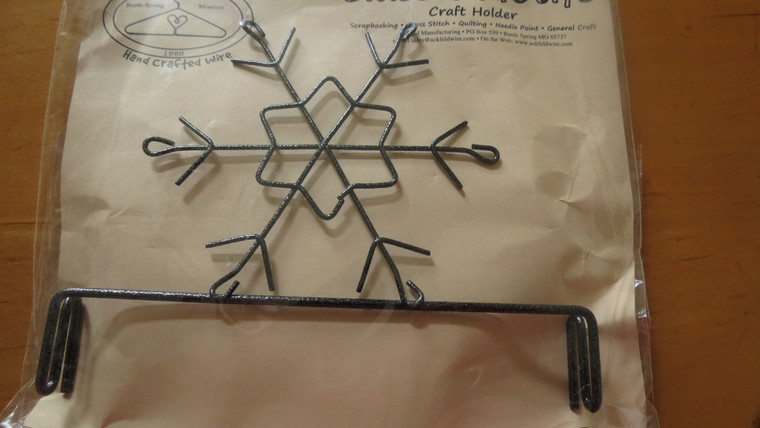"""6"""" Snowflake Header for 6"""" X 12"""" stand"""