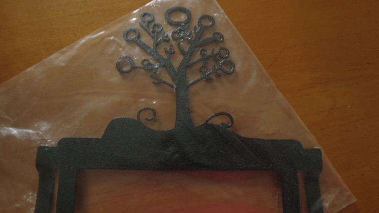 """6"""" Winter Tree Header for 6"""" X 12"""" Stand"""