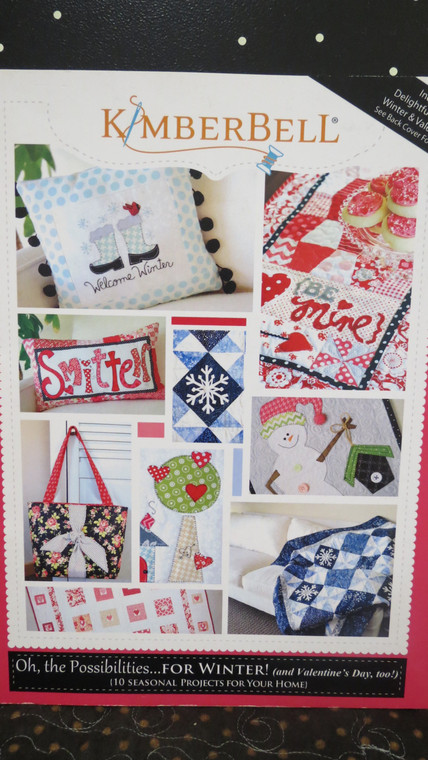 Oh, The Possibilities ... for Winter (and Valentine's Day, too!) sewing version