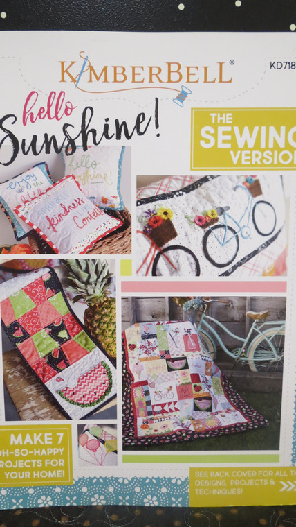 Hello Sunshine!   the sewing version