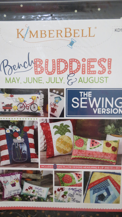 Bench Buddies: May, June, July, & August   (sewing version)