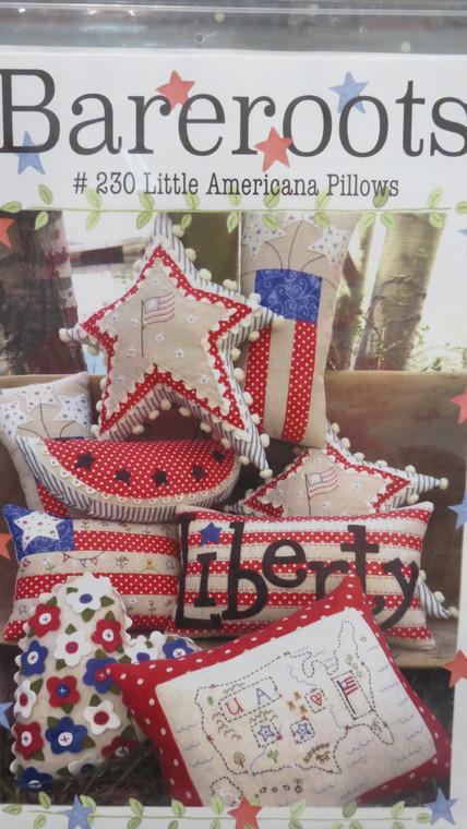 Bareroots #230 Little Americana  Pillows