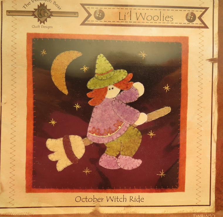 Li'l Woolies  October Witch Ride