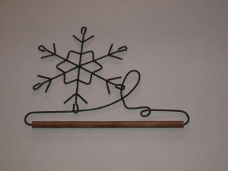 "7.5"" Snowflake"