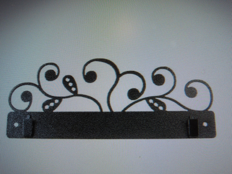 """10"""" Paisley Vine with Clips"""