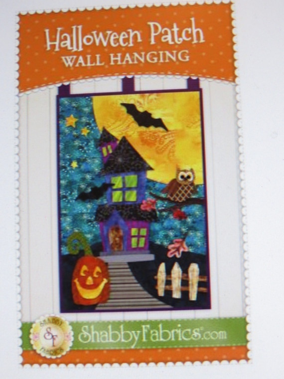 Halloween Patch Wall Hanging