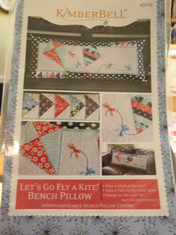 Let's Go Fly a Kite! Bench Pillow
